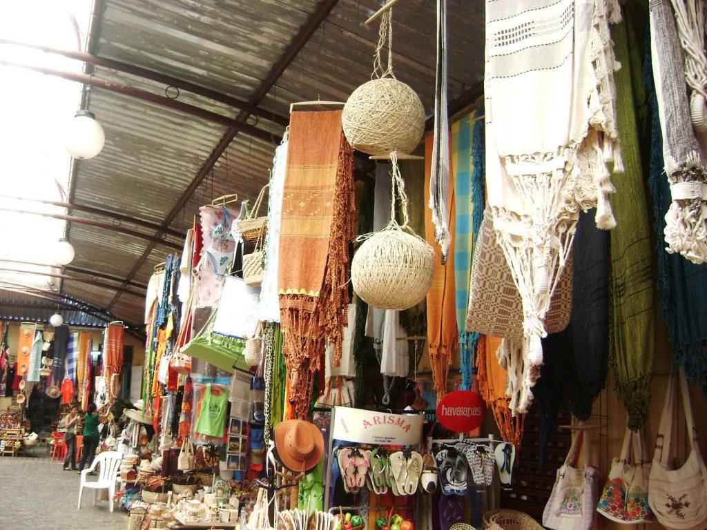 Artesanato você encontra no Mercado Central